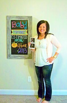 Pregnancy Chalkboard: Week 6 Baby Bump Chalkboard, Chalkboard Ideas, Weekly Pregnancy, Pregnancy Stages, Pregnancy Tracker, Pregnancy Workout, September Baby, September 2014, Newborn Photos