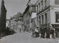 Herre ekviperingshandler i Nyhavn 1930-40