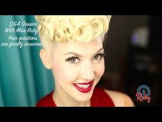Q&A With Miss Ruby - YouTube – http://thepinuppodcast.com  re-pinned this because we are trying to make the pinup community a little bit better.