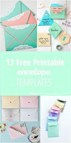 13 Free Printable Envelope Templates-jpg