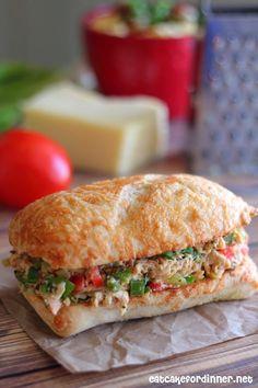 Tex-Mex Chicken Salad Sandwiches - Eat Cake For Dinner