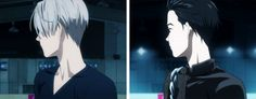 Viktor and Yuuri | Yuri!! on Ice Oh YES sb has made a gif from this scene