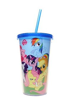 Silver Buffalo My Little Pony Friendship is Magic Cold Cup with Lid and Straw 16 oz Blue *** Details can be found by clicking on the image. (This is an affiliate link) My Little Pony Decorations, My Little Pony Backpack, My Little Pony Dolls, Bath N Body Works, Construction For Kids, Disney Frozen Birthday, Unicorn Rooms, Accessoires Iphone, My Little Pony Pictures