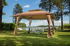 Amazon.com : 13 x 13 Pop-Up Canopy Gazebo. Great for Providing Extra Shade for your Yard, Patio, or Outdoor Event. : Patio, Lawn & Garden