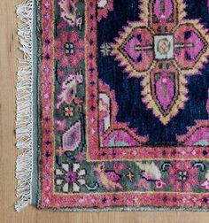Kismet Rug in Navy | Caitlin Wilson Textiles