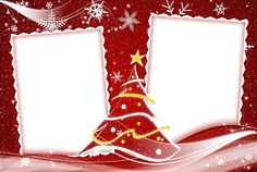 Decoration Christmas Tree Frame   Free Photo Frames
