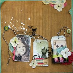"Crate Paper ""sweet Little Thing"" Layout by Lucy Edson - Scrapbook.com"