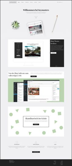 Wordpress Themes for Bloggers and Businesses by Keymasters