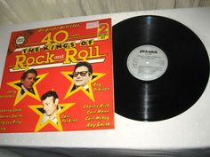 Various ‎- 40 Tracks The Kings Of Rock And Roll, 2x Lps mint