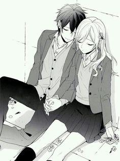 Couple Anime Manga, Couple Amour Anime, Manga Anime, Anime Amor, Anime Love Couple, Best Shoujo Manga, Anime Girls, K Project Manga, Manga Romance