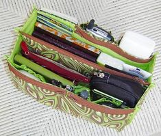 Purse insert pattern