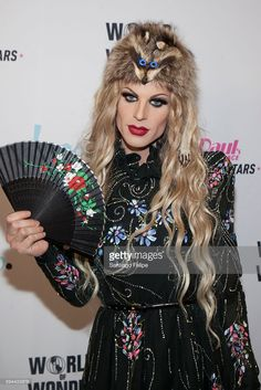 Katya Zamolodchikova attends RuPaul's Drag Race All Stars season two premiere at Crosby Street Hotel on August 23, 2016 in New York City.