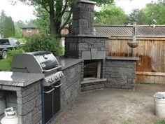 Outdoor BBQ Fireplace www.facebook.com/NewEraModulars www.neweramodulars.com