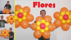 how to make a balloon flower - easy balloon flower Balloon Tower, Balloon Garland, Balloon Decorations, Birthday Decorations, Flower Tower, Balloon Animals, Felt Flowers, Party Themes, Projects To Try