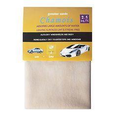 ZH Natural Chamois Leather Chamois Polishing Cloth for Car Washing Drying 35 sqft ** Be sure to check out this awesome product.Note:It is affiliate link to Amazon.