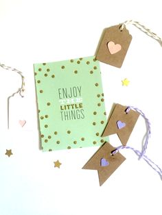 Mini gift tags at Stacey's Love