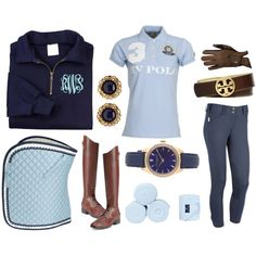 Two Tone Blue ROOTD