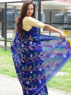 Resham Jamdani #Saree
