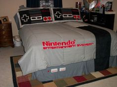Nintendo Bed!