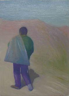 """Enric Balanzá recoge la estela de aquellos que, desde Cézanne a Morandi, se empecinaron por conceder al tiempo una dimensión estática. La tarea encierra un nudo trágico dada la dificultad de hacer visible esa """"cadencia de lo duradero"""". La densidad lumínica concede una atmósfera extemporánea a las escenas. La calima empaña la cálida luz meridional y emborrona los rasgos. En los interiores, la sensación onírica queda acentuada por amplios planos cromáticos que parecen adentrarnos en otras… Modern Art, Painting, Scale, Art School, Exhibitions, Interiors, Artists, Painting Art, Paintings"""