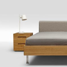 We'd like to show you various ways to combine the solid oak 'Twice' bedstead with our sidetables. Let's mono materialize!  #solidoak #interior #inspiration