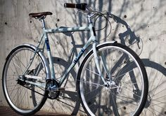 """You can never have too many bikes. If I ever move to a city, I am getting this one. Carbon """"chain"""", gearless shifter, disc brakes. Mmmm."""