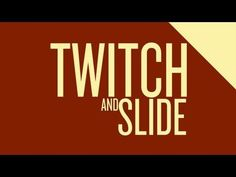 AFTER EFFECTS - Twitch and Slide Motion - Adobe After Effects tutorial