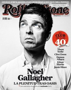 Noel Gallagher in Rolling Stone's Cover