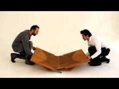 Rising Furniture by Robert van Embricqs - YouTube