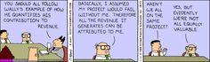 The Dilbert Strip for February 14, 1995