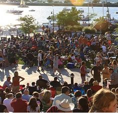 The Harbor Entertainment Rockwall - free concerts every Thursday night in the summer