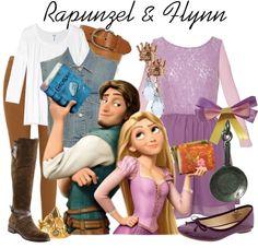 """""""Rapunzel & Flynn"""" by princesschandler on Polyvore"""