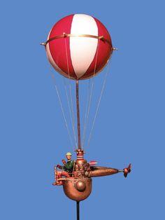 KOSMOTRONIKS: -ballonpropridder 01, works by Harry Arling