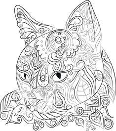 40 colouring pages Digital download 1 PDF Print & Color