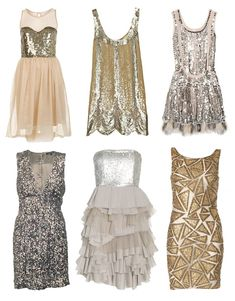 Sequin Dresses.