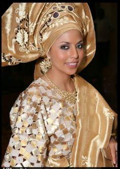 Segun Gele - Master of the fine art of tying African headdress!