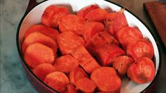 Maple candied sweet potatoes from Melissa Clark