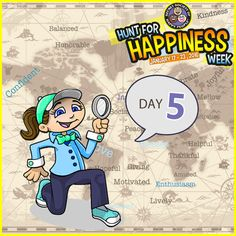 Celebrate Day 5 of ‪#‎HuntforHappiness‬ Week. Pick one of our three hunts to add a little fun to your day: http://sohp.com/hunt-happiness-day-5