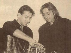 Salman Khan With His Best Friend Sanjay Dutt