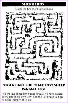 Shepherd Maze Lost Sheep