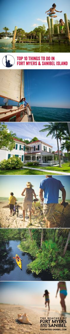 Leave Disney behind and discover Fort Myers and Sanibel, home to fascinating art galleries, dynamic eateries, cool water sports and beautiful beaches