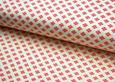 Stoff grafische Muster - ICONIC - graphisches Muster - Baumwolle * 0,5 m - ein Designerstück von tumult-stoffe bei DaWanda