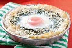 Tarteletas de espinaca y huevo