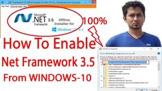 how to enable net framework 3 5 on windows 10,Turn windowsfeatures on or...