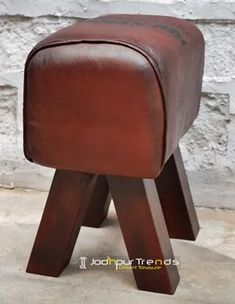 in is Manufacturer, Supplier & Wholesaler of Leather Designer Handcrafted Foot Stool Furniture from Jodhpur India. Call 9549015732 to know Daman And Diu, Madurai, Restaurant Furniture, Jodhpur, Office Furniture, Stool, Trends, Leather, Design