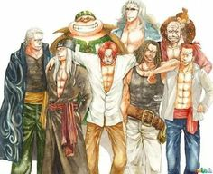 Los piratas de Shanks