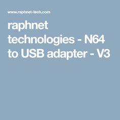 raphnet technologies - N64 to USB adapter - V3