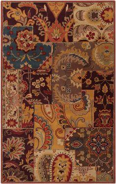 Jeweled collage #HPmkt- surya rug