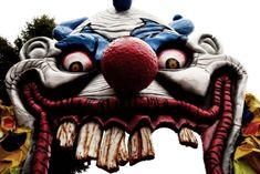 scary halloween decoration ideas | Scary Clown - Halloween decoration at Canada's Wonderland | Flickr ...