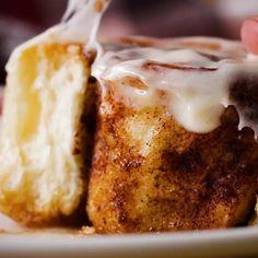 Cinnamon Rolls 4 Ways by Tasty